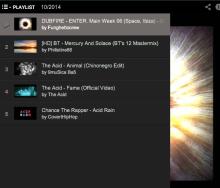 Playlist: 10/2014