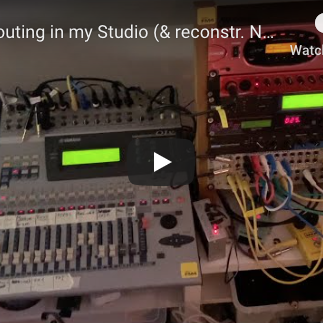 Video: Audio routing in my Studio