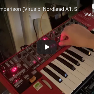 Video: Filter comparison (Virus b, Nordlead A1, Serum) by recreating Sasha – Xpander & X-Cabs Engage